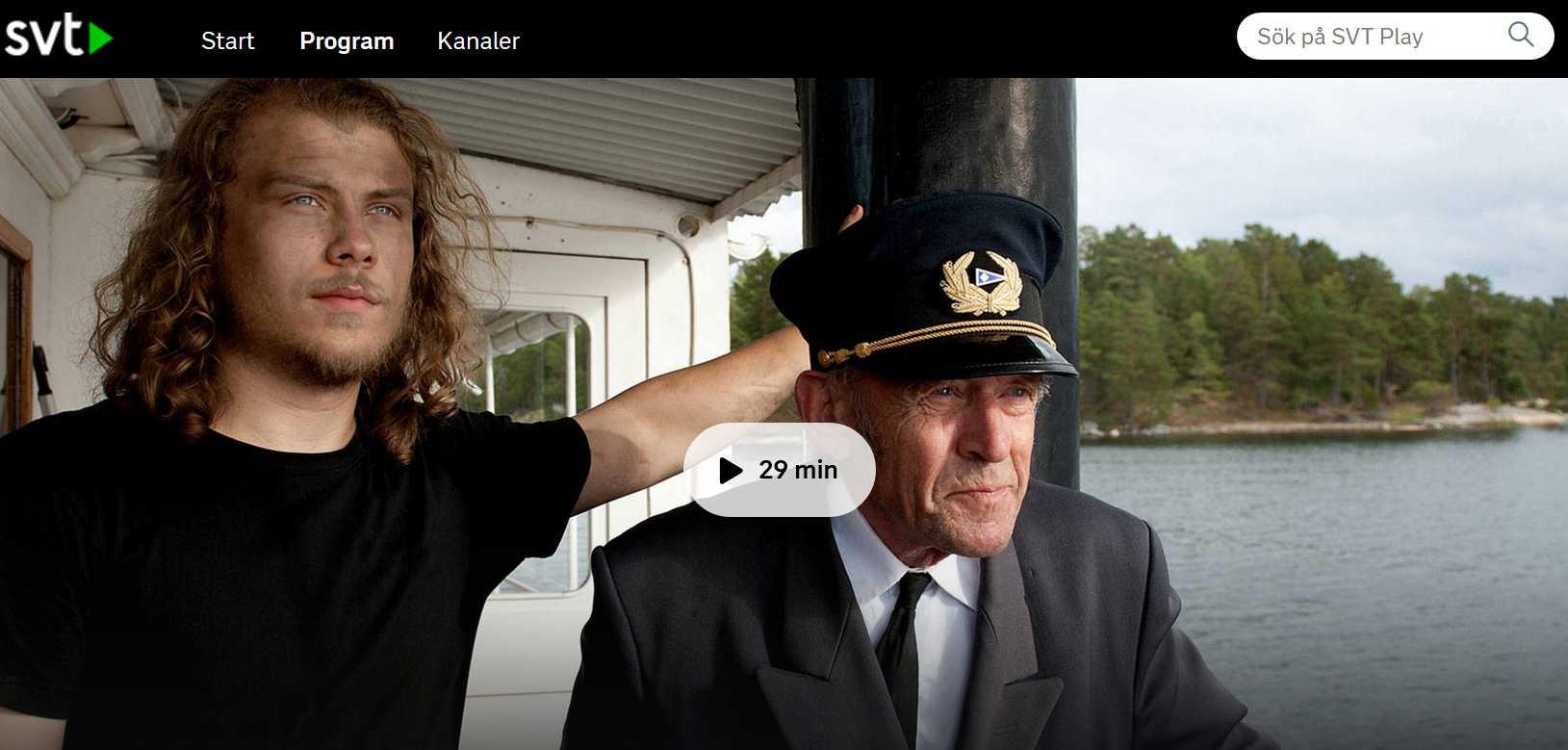 Ånga om sommaren – dokumentär i TV