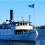 Kulturresa med ångfartyget Mariefred